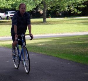 Eric riding Miyata 610