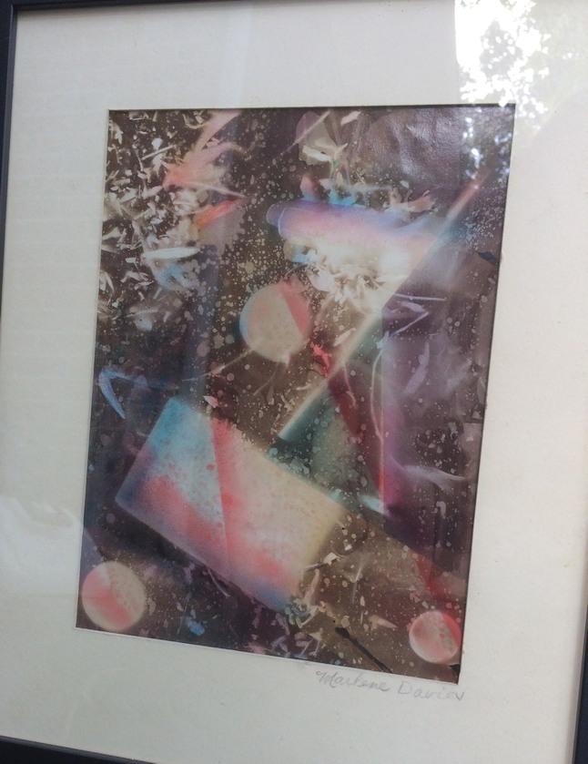 Marlene Davies' Scanner Art